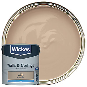 Wickes Butterscotch - No.440 Vinyl Matt Emulsion Paint - 2.5L