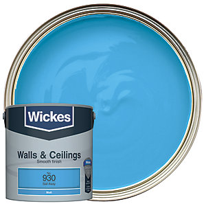 Wickes Sail Away - No.930 Vinyl Matt Emulsion Paint - 2.5L