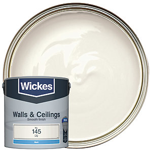 Wickes Lily - No.145 Vinyl Matt Emulsion Paint - 2.5L