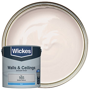 Wickes Blissful Silence - No.165 Vinyl Matt Emulsion Paint - 2.5L