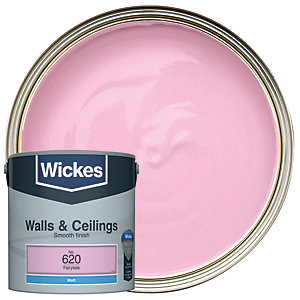 Wickes Fairytale - No.620 Vinyl Matt Emulsion Paint - 2.5L
