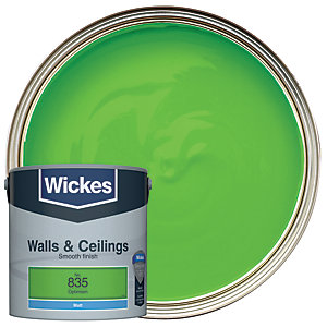 Wickes Optimism - No.835 Vinyl Matt Emulsion Paint - 2.5L
