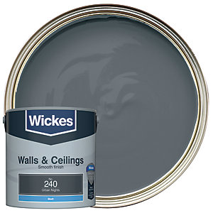 Wickes Urban Nights - No.240 Vinyl Matt Emulsion Paint - 2.5L