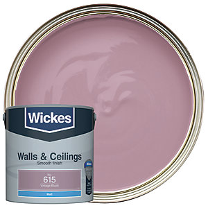 Wickes Vintage Blush - No.615 Vinyl Matt Emulsion Paint - 2.5L