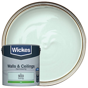 Wickes Duck Egg - No.900 Vinyl Silk Emulsion Paint - 2.5L