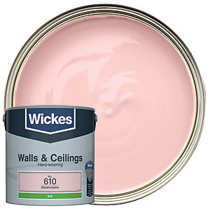 Wickes Marshmallow - No.610 Vinyl Silk Emulsion Paint - 2.5L