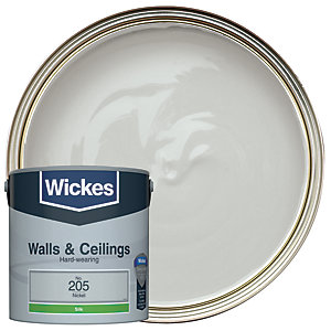 Wickes Nickel - No.205 Vinyl Silk Emulsion Paint - 2.5L