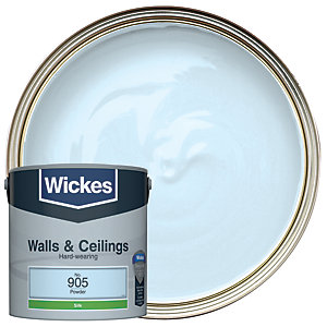 Wickes Powder - No.905 Vinyl Silk Emulsion Paint - 2.5L