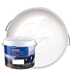 Wickes Masonry Textured Pure Brilliant White 10L