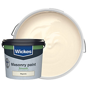 Wickes Masonry Smooth Magnolia 5L