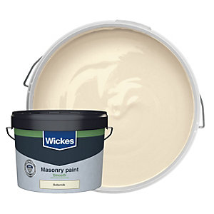 Wickes Masonry Smooth Buttermilk 10L