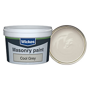 Wickes Masonry Smooth Tester Cool Grey 250ml