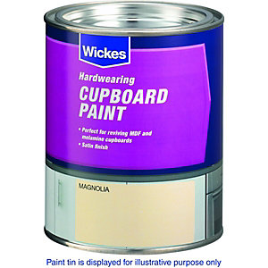 Wickes Cupboard Paint - Magnolia 750ml