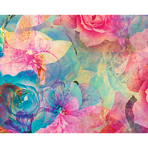 ohpopsi Bold & Beautiful Flowers Wall Mural