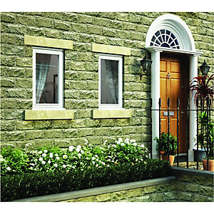 Wickes White Timber Casement Window - LH Side Hung 1195 x 625mm