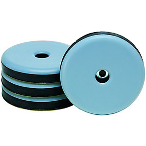 Wickes 63mm Self-Adhesive Glides - Pack of 4