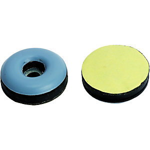Wickes 25mm Self-Adhesive Glides - Pack of 8