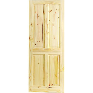 Wickes Chester Knotty Pine 4 Panel Internal Door