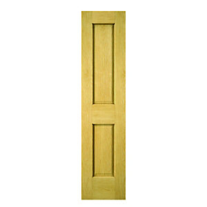 Wickes Cobham Oak 2 Panel Internal Cupboard Door - 1981mm x 457mm