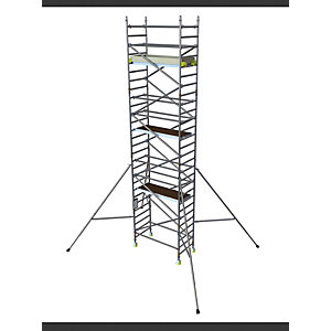 BoSS Clima 3T Access Tower 0.85m (W) x 1.8m (L) 3.7m Platform Height