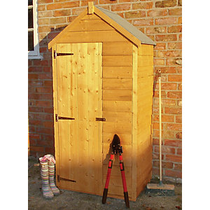 Shire 3 x 2ft Overlap Timber Tool Store Shed
