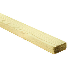 Wickes Treated Sawn Timber - 22mm x 47mm x 2.4m