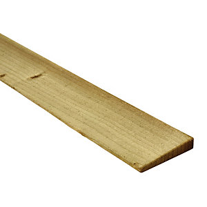 Image of Wickes Feather Edge Fence Board - 100 x 11mm x 1.5m