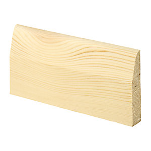 Wickes Chamfered Pine Architrave - 15mm x 69mm x 2.1m