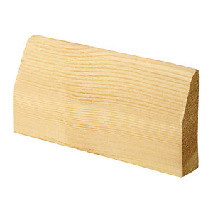 Wickes Chamfered Pine Architrave - 20.5mm x 69mm x 2.1m