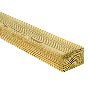 Wickes Treated Kiln Dried C16 Timber - 45 x 70 x 3600mm