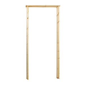 Wickes Softwood Rebated Door Casing 33 x 131mm x 2m