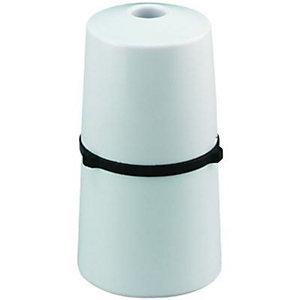 Wickes Heat Resistant Pendant Lamp holder - White