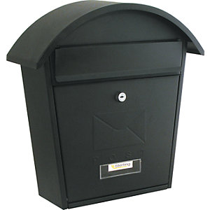 Sterling MB06BK Classic 2 Post Box - Black