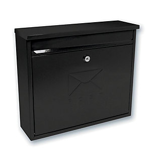 Sterling MB02BK Elegance Post Box - Black