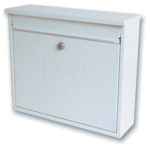 Sterling MB02 Elegance Post Box - White