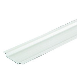 Wickes PVC Protective Channel 38mm X 2m - White