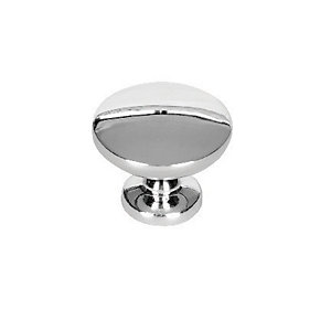 Wickes Victorian Door Knob - Polished Chrome 30mm Pack of 6