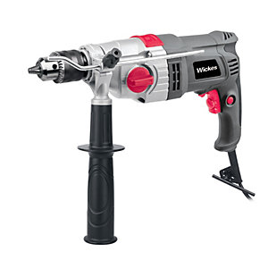 Wickes Corded Hammer Drill 230-240V - 1050W