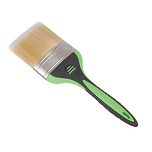 Wickes All Purpose Soft Grip Paint Brush - 4in