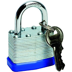 Wickes Laminated Padlock - 50mm