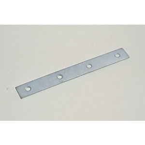 Wickes Zinc Plated Mending Plate 125mm Pack 4