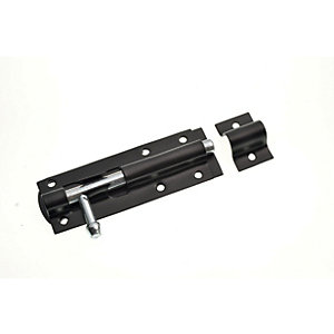 Wickes Tower Bolt - Black 100mm