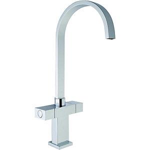 Wickes Akola Monobloc Mixer Kitchen Sink Tap - Chrome