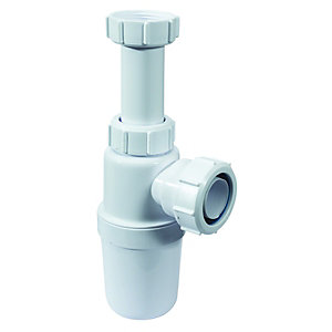 McAlpine C10A Adjustable Bottle Trap - 38mm