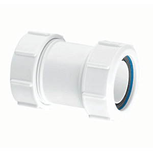 McAlpine Multifit FIT29 Straight Pipe Connector - 40mm