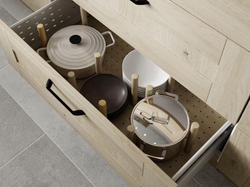 Pan drawer