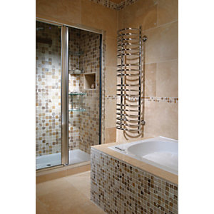 Wickes Classic Kremna Travertine Wall & Floor Wall & Floor Tile 600 x 400mm