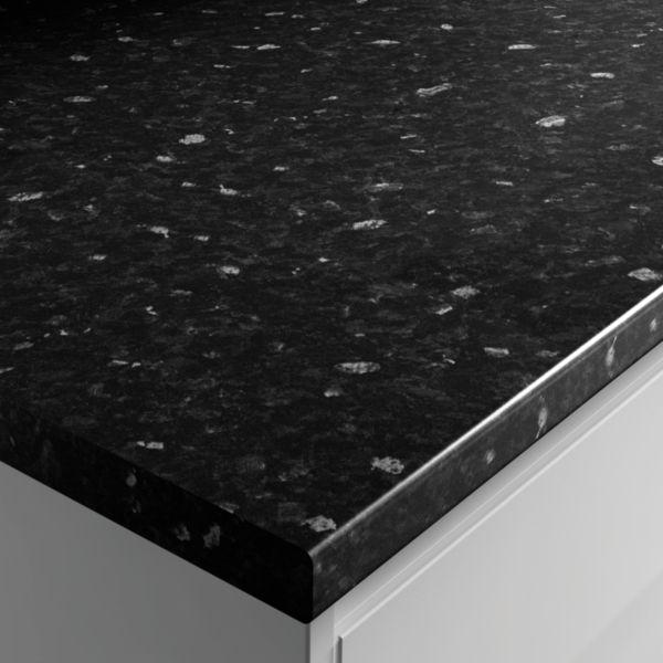 Laminate Worktop 3m Black Slate Effect