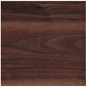 Wickes Wood Effect Laminate Worktop Upstand - Romantic Walnut 70 x 12mm x 3m