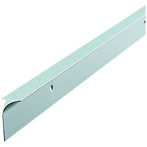 Wickes Worktop Corner Joint Trim - Silver Effect 28mm